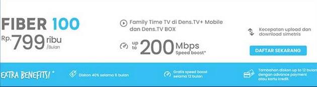 Fiber Broadband 100