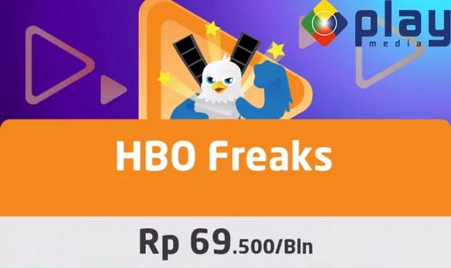 HBO Freaks Rp. 69.500