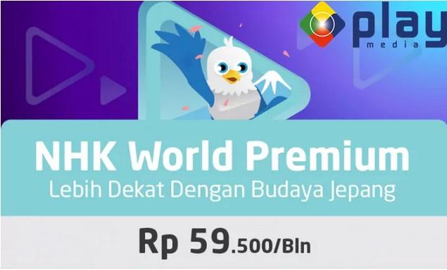 NHK World Premium Rp. 59.500