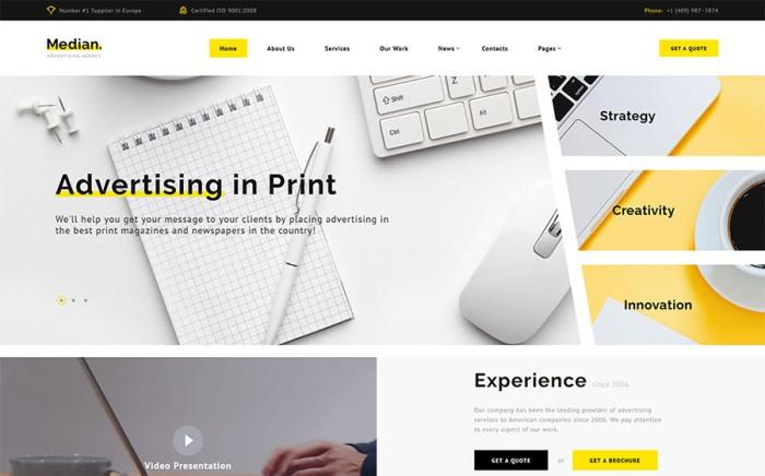 Median – Advertising Agency