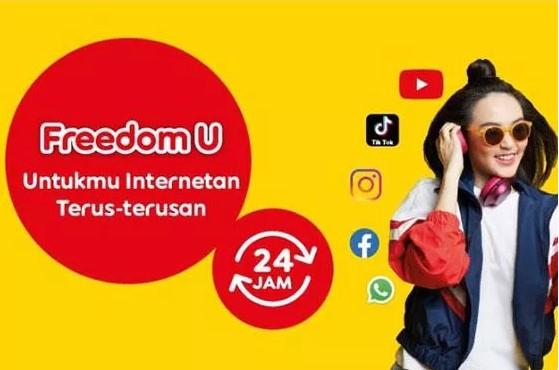 Paket Internet Indosat Freedom Unlimited (Prabayar)