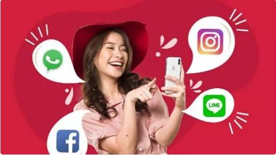 Paket Internet Smartfren Super 4G Social (Prabayar)